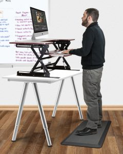 What is a Standing Desk Mat with standing desk