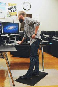 What is a Standing Desk Mat skymat