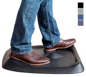 What is a Standing Desk Mat ergodriven calf stretch