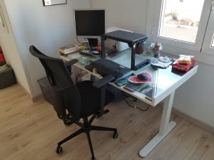 Flexispot E2 Desk Review my desk
