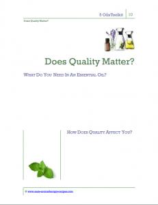 Easy Aromatherapy Recipes