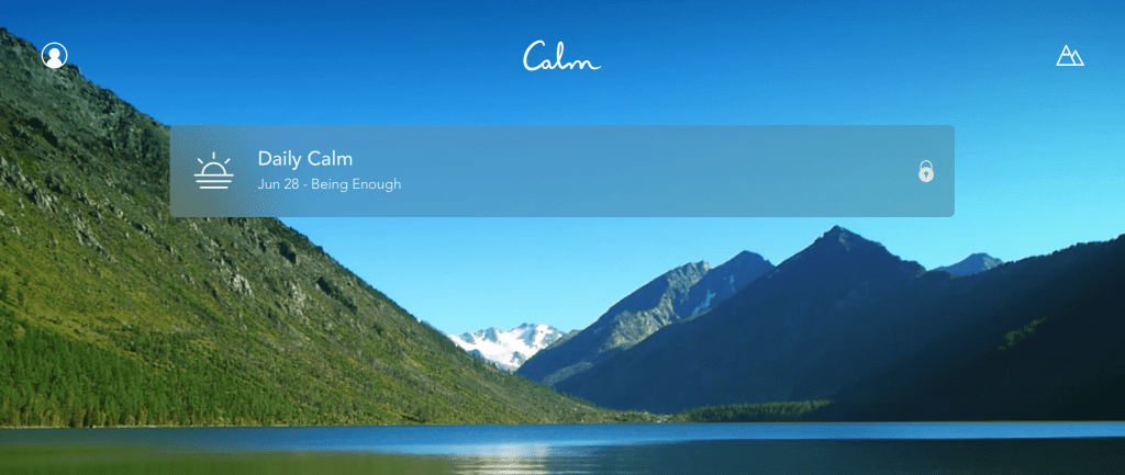 calm app review Daily Calm