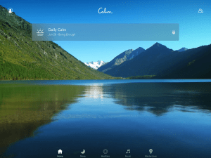 calm app review Homepage