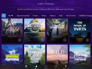 calm app review sleep stories