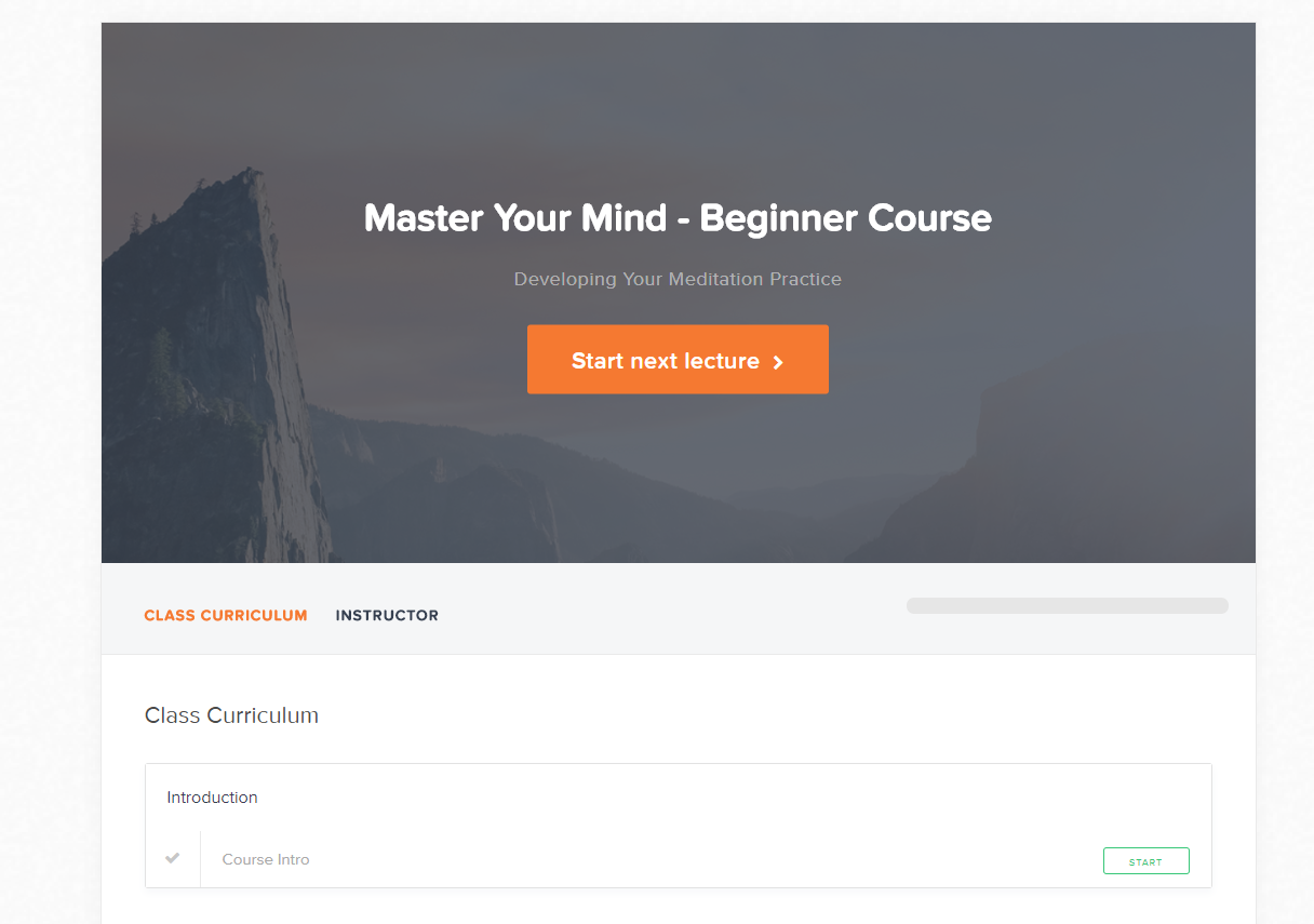 Live and Dare Beginners meditation Beginner course