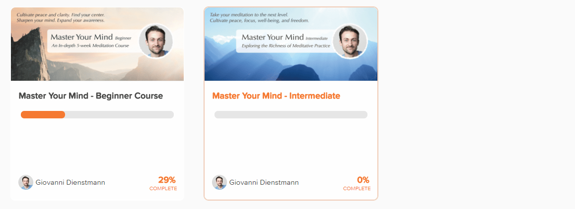 Live and Dare Beginners meditation courses