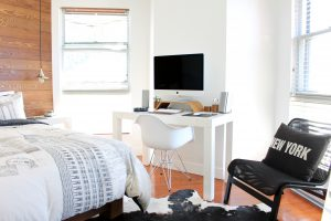 freelance company culture bedroom home office