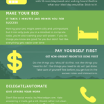 self-care tip infographic